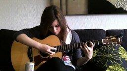 Смотреть Кавер на гитаре Nothing Else Matters