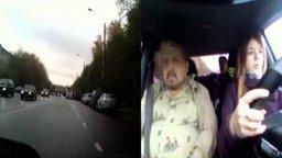 Девушка сдаёт экзамен по вождению смотреть видео прикол - 8:44