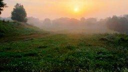 Смотреть Потрясающий восход солнца