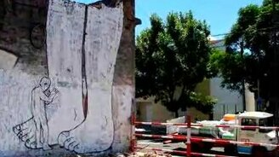 Смотреть Живое граффити