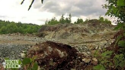 Смотреть Взрыв скалы в замедлении