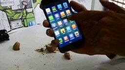 Смотреть Китайский смартфон-орехоколка