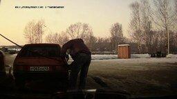 Сильный водитель девятки смотреть видео прикол - 1:06