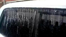 Последствия ледяного дождя смотреть видео прикол - 1:59
