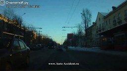 Смотреть Взрыв троллейбусного колеса