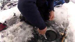 Большой зимний улов смотреть видео прикол - 2:22
