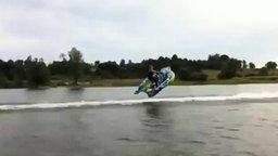 Захватывающее катание по воде смотреть видео прикол - 0:36