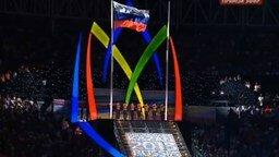 Смотреть Красивое исполнение российского гимна