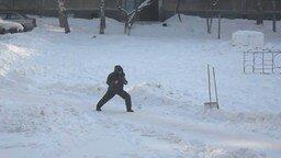 Смотреть Зимний новосибирский самурай