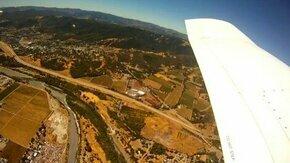 Смотреть Падение камеры из самолёта
