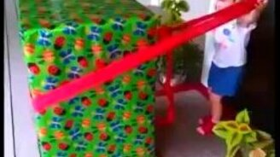 Подарок в виде папы смотреть видео прикол - 2:46