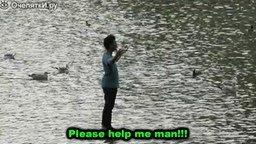 Смотреть Пошёл по воде!