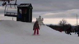 Смотреть Настоящий снежный человек
