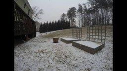 Сколько может выпасть снега за 12 часов смотреть видео - 0:44