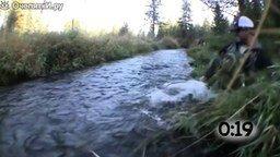 Ляпы на рыбалке и с рыбой смотреть видео прикол - 0:54