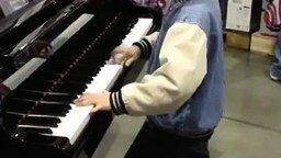 Смотреть Маленький способный пианист