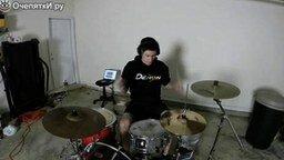 Смотреть Огненный ритм на барабанах