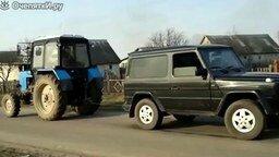Смотреть Гелендваген против Белоруса