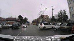 Позор женщины-водителя смотреть видео прикол - 1:16