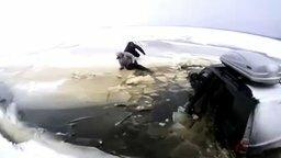 Утопили свою машину на рыбалке смотреть видео прикол - 4:27