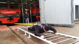 Смотреть Эльбрус Нигматуллин Тяга поезда тестирование