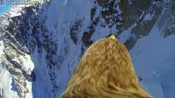 Полёт над Альпами глазами орла смотреть видео прикол - 1:44