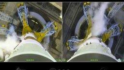 Смотреть Впечатляющий полёт ракеты Союз