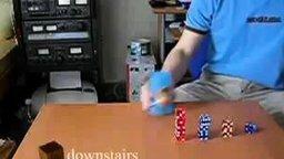 Смотреть Фокусы с кубиками