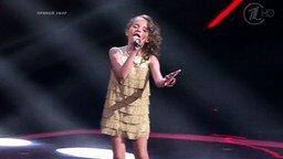 Смотреть Маленькая певица - а уже какая взрослая!