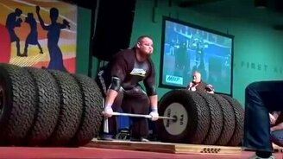 Смотреть Штанга весом 485 кг