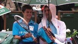 Смотреть Позитив для парня от известного теннисиста