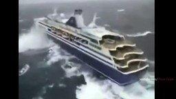 Смотреть Топ-10 кораблей в шторме