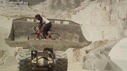 Каскадёр на велосипеде смотреть видео - 3:13