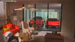 Смотреть Причудливый гараж миллионера