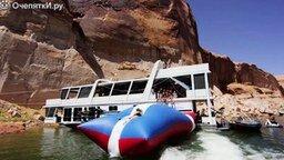 Смотреть Летнее экстремальное развлечение на воде