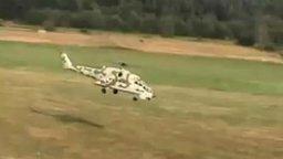 Радиоуправляемый турбированный вертолёт Ми-24 смотреть видео прикол - 7:55