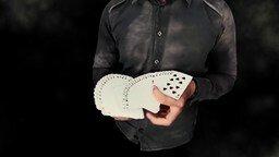 Смотреть Ловкость рук карточного игрока