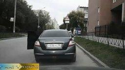 Важный урок для водителей смотреть видео прикол - 0:33