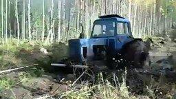 Смотреть Самый лучший внедорожник - трактор