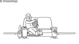 Смотреть Устрашающий кот Саймона