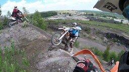 Экстрим на мотоциклах эндуро смотреть видео прикол - 12:14