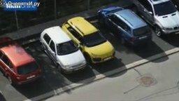 Феерическая женская парковка смотреть видео прикол - 1:59