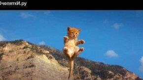 Смотреть Летающие котята против летающих щенков