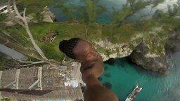 Смотреть Прыжок в воду с 25-метровой вышки