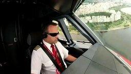 Пилотирование самолёта смотреть видео - 3:55