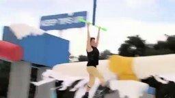 Смешные моменты жестокого спортшоу смотреть видео прикол - 5:55