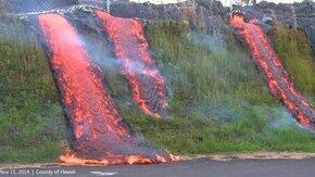 Смотреть Извержение гавайского вулкана