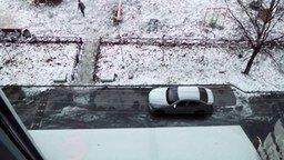 Возмездие за неправильную парковку смотреть видео прикол - 0:20