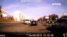 Курьёзы и происшествия на дорогах смотреть видео прикол - 10:02