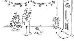 Рождественский кот Саймона смотреть видео прикол - 2:17